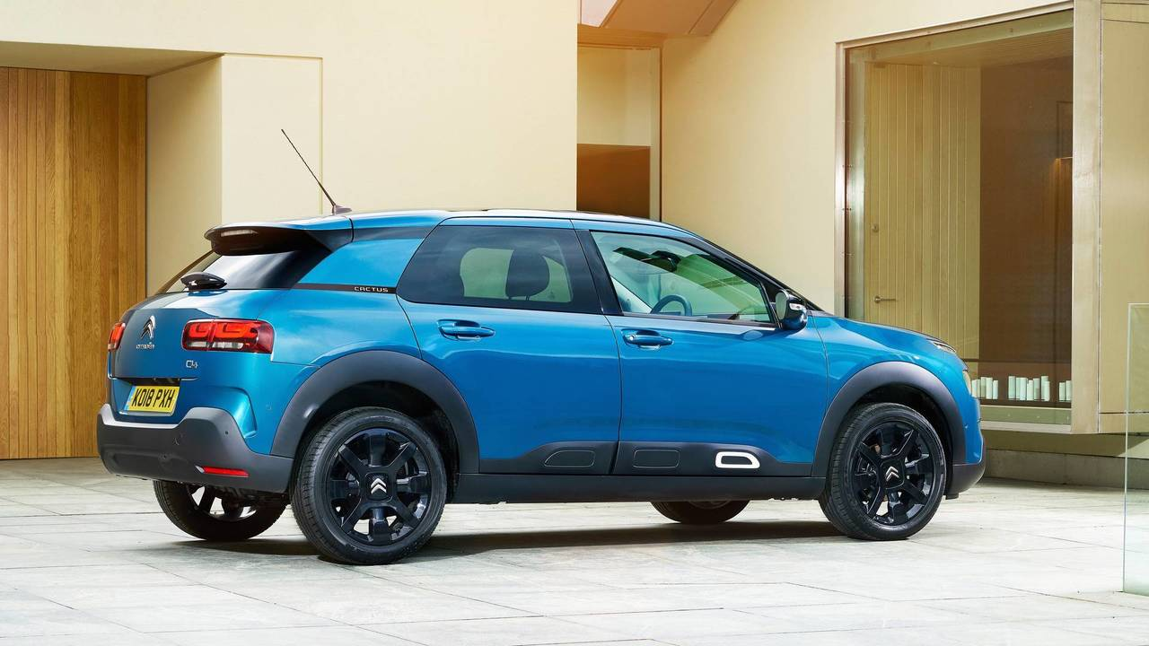 2018 citroen c4 cactus review quirky comfort. Black Bedroom Furniture Sets. Home Design Ideas