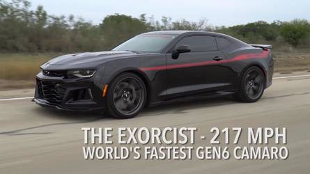 Watch Hennessey's Exorcist Camaro Unleash Its 217-MPH Top Speed