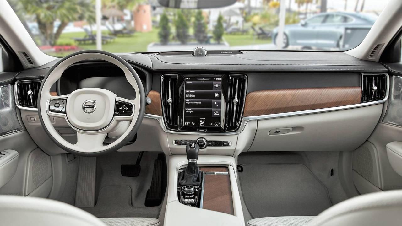 2018 Volvo V90 kabin