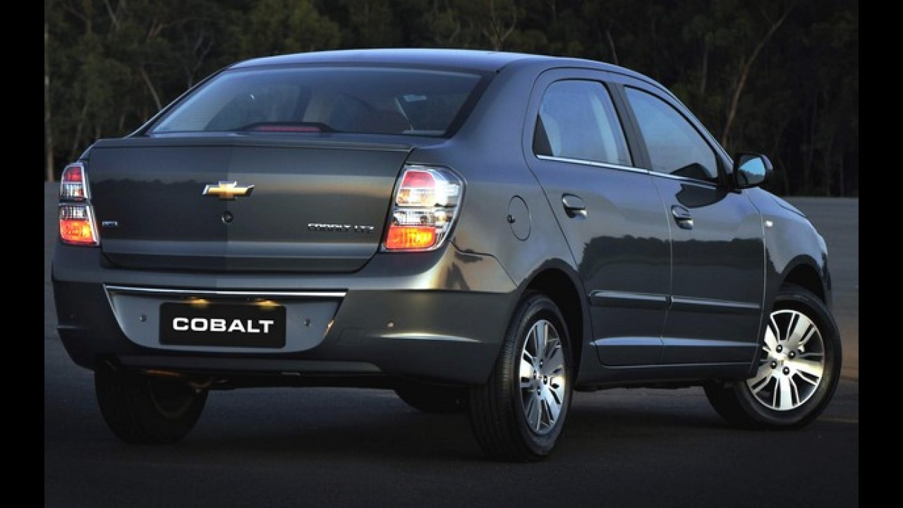 Chevrolet Cobalt alcança 100.000 unidades produzidas