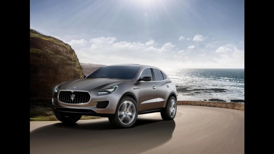 Maserati apresentará versão de produção do Kubang Concept no Salão de Detroit de 2014