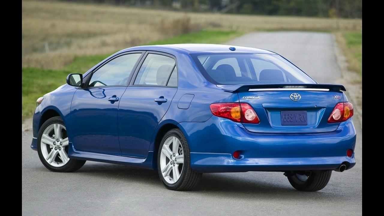 Corolla é investigado por novas denúncias de aceleração involuntária