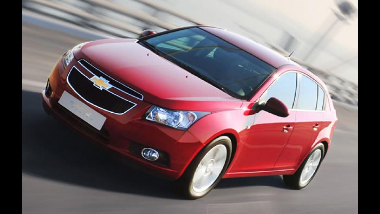 Oficial: Chevrolet Cruze hatchback é revelado