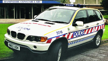 BMW X5 joins Hampshire Police fleet