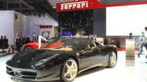 Paris Motor Show - Ferrari 458 Italia