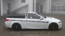 BMW M3 pickup testing at Nurburgring 23.03.2011