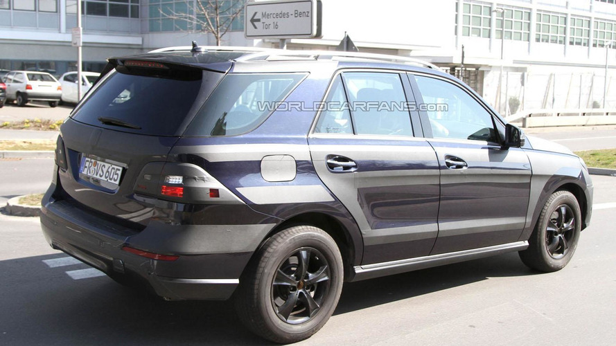 2012 Mercedes M-Class stretches its legs in Germany