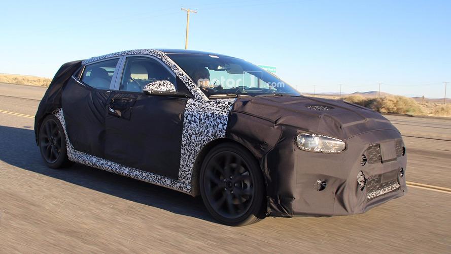 Yeni Hyundai Veloster sıcak hava testlerinde görüntülendi