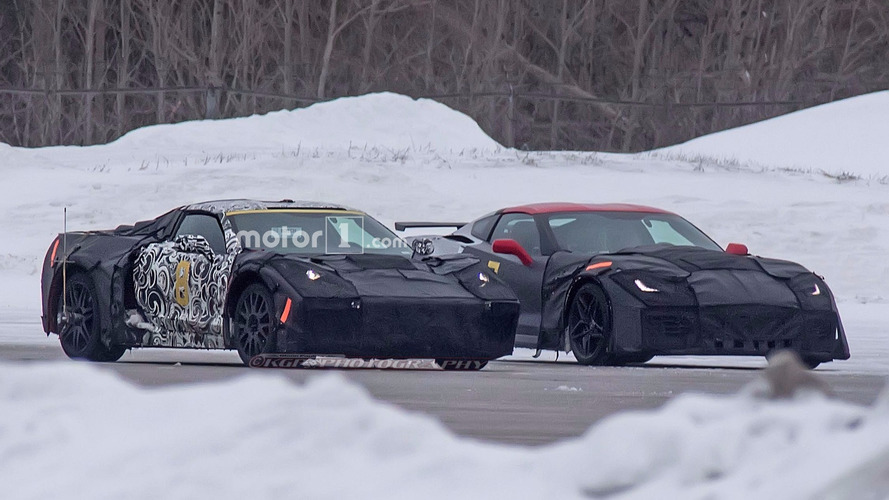 Photos espion - La future Corvette et la ZR1 surprises en test