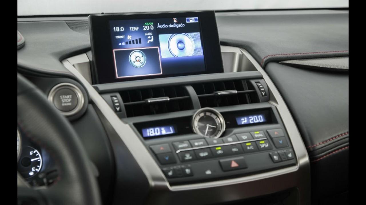 "Volta Rápida: Lexus NX 200t ""relança"" a marca mirando no Evoque"