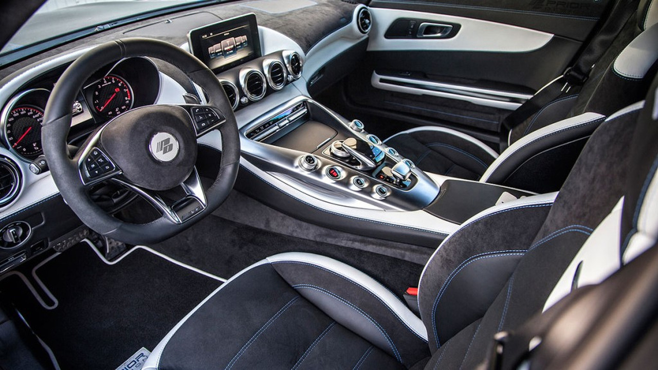 Mercedes s class coupe interior by prior design motor1 for Dec design interieur