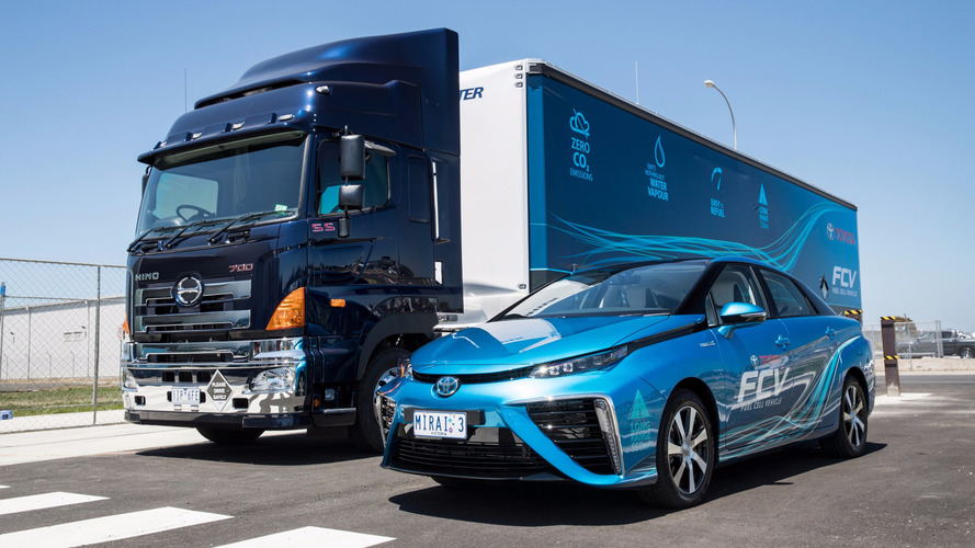 Toyota Australie station à hydrogène mobile