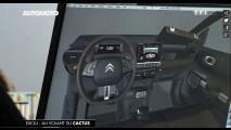 Citroën mostra teaser da versão de produção do C-Cactus
