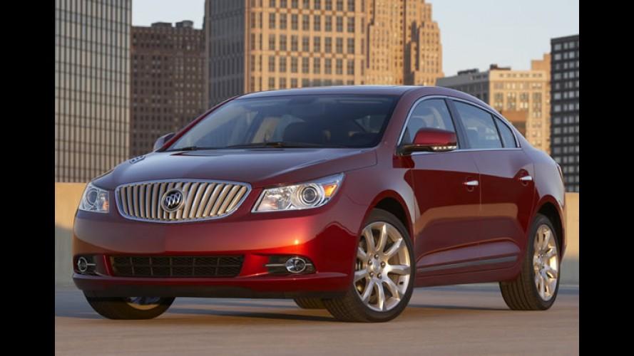Buick LaCrosse ultrapassa 100 mil unidades vendidas na China