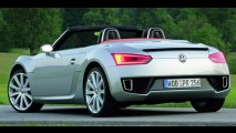 VW retoma produção de conversível baseado no BlueSport - Preço ficará entre US$ 30 mil e 35 mil