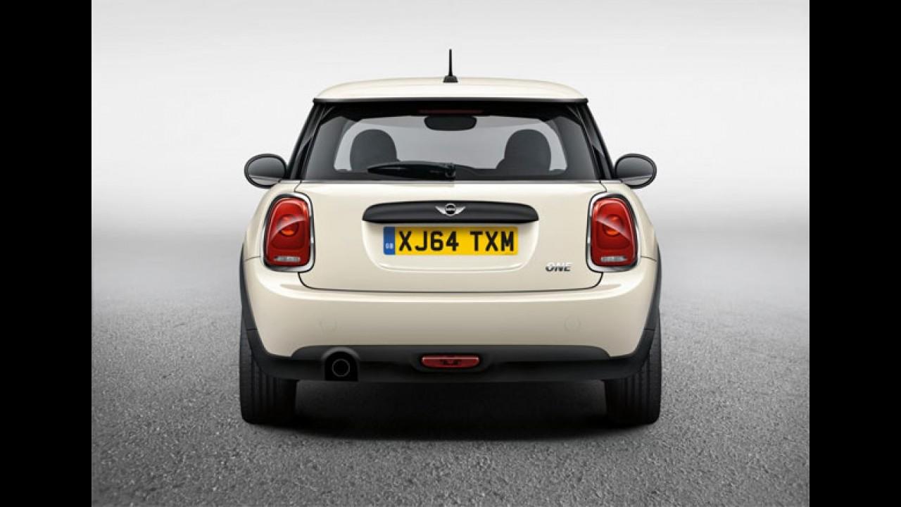 MINI One 5 portas ganha motor de 75 cv; consumo médio é de 19,2 km/l