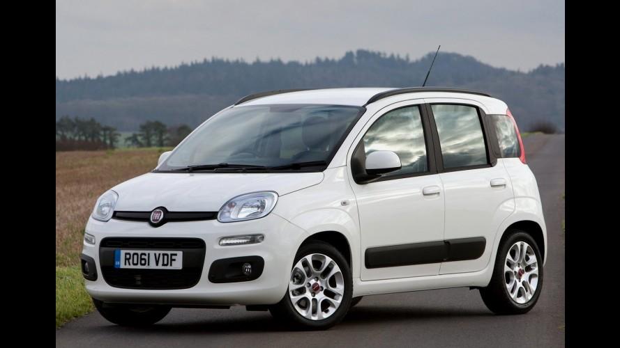 Fiat paralisa produção do Panda na Itália por conta das baixas vendas