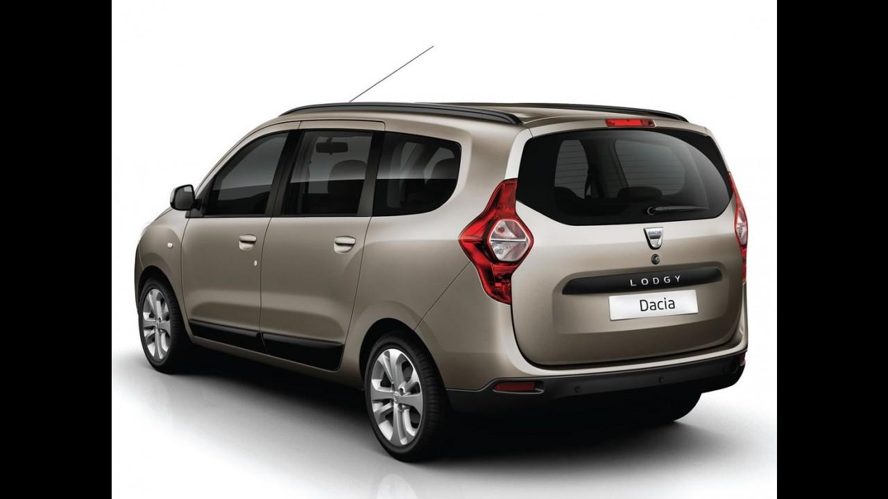 Dacia revela a minivan Lodgy - Modelo deve ser feito no Brasil pela Renault
