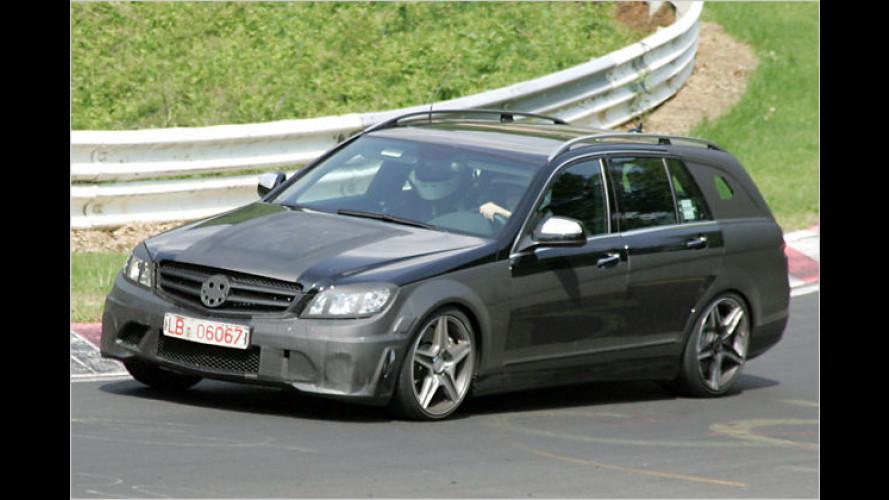 Erlkönig: Neues Mercedes C-Klasse T-Modell AMG
