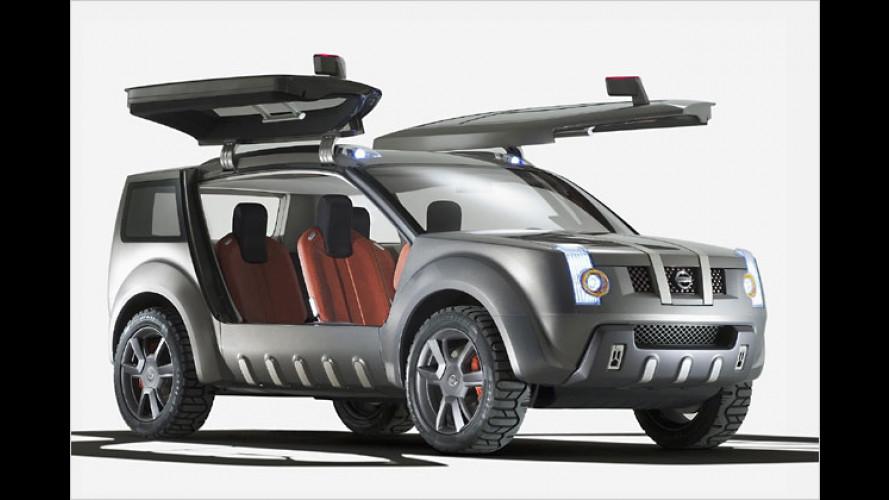 Nissan Zaroot: Geflügelter SUV für übermorgen