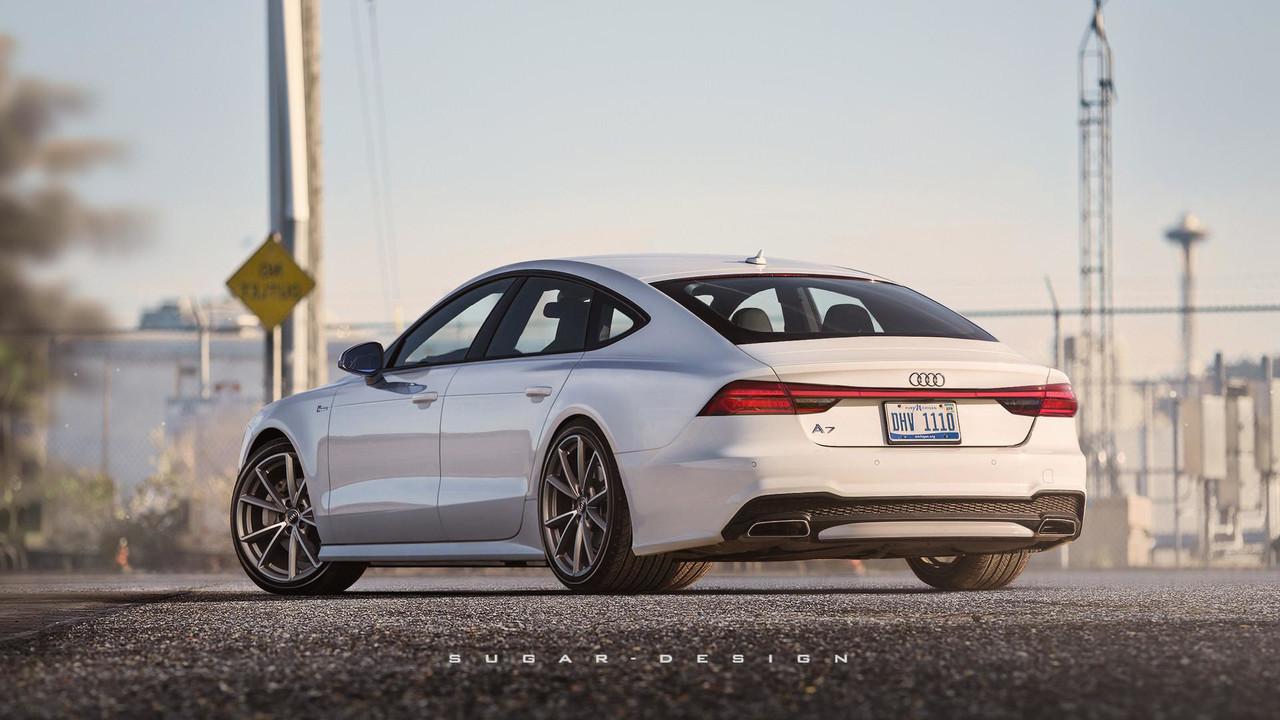 Audi A7 render