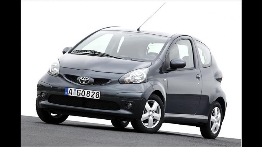 Knuffig und verspielt: Der Toyota Aygo kommt