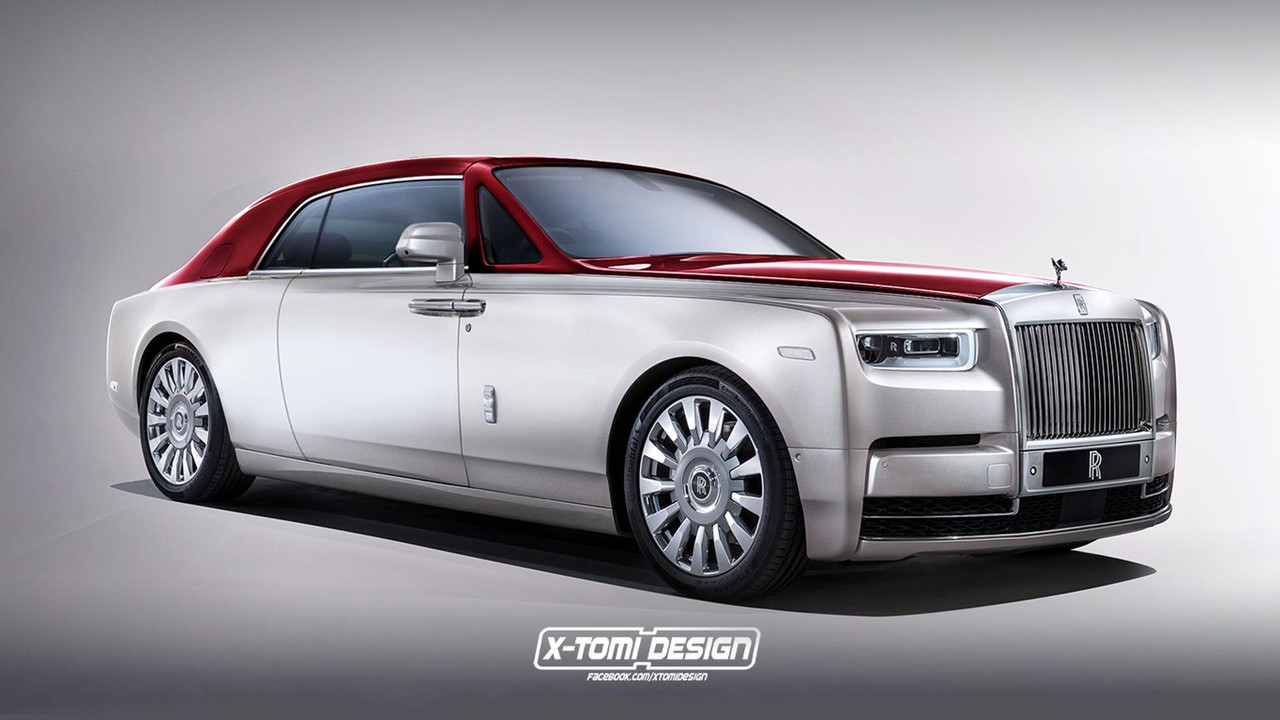 Rolls-Royce Phantom Coupe render