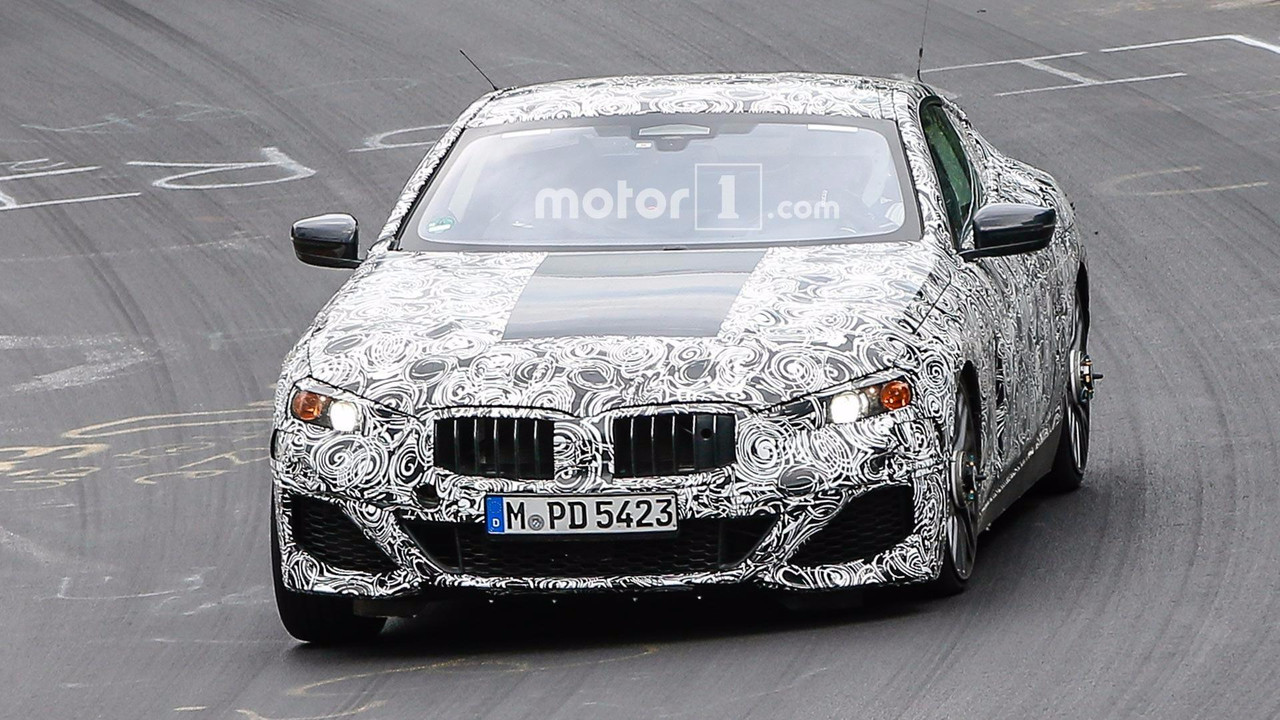 BMW 8 Series Spy Photos