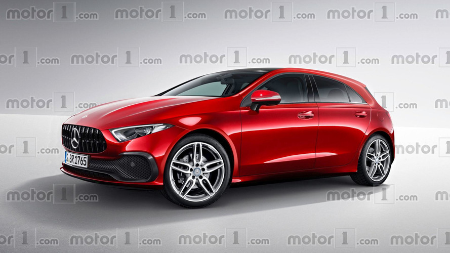 Será que o Mercedes-Benz Classe A de nova geração será assim?