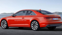 2017 Audi A5 Coupe render