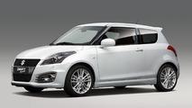 2012 Suzuki Swift Sport previewed 10.08.2011