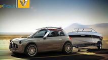 Renault 4 resurrected through digital renderings