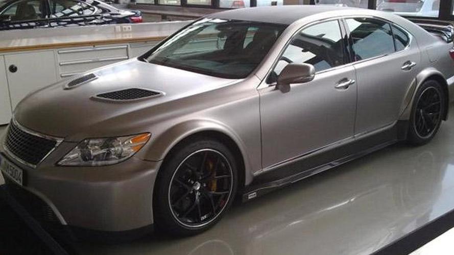 Lexus LS TMG Edition leaked [VIDEO UPDATED]