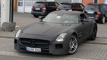 2013 Mercedes SLS AMG Black Series spy photo - 19.10.2011