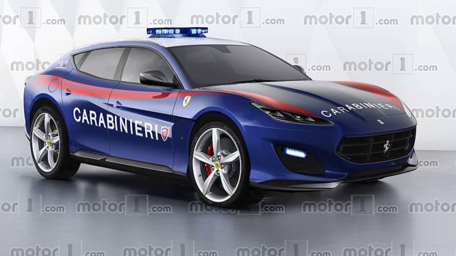 Marchionne diz que inédito SUV da Ferrari poderá ser usado pela polícia