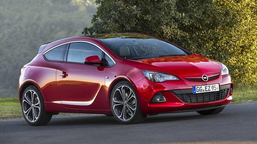 Fin de carrière pour les Opel Astra GTC et Zafira