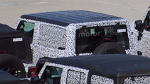 Jeep Wrangler roof spy photo