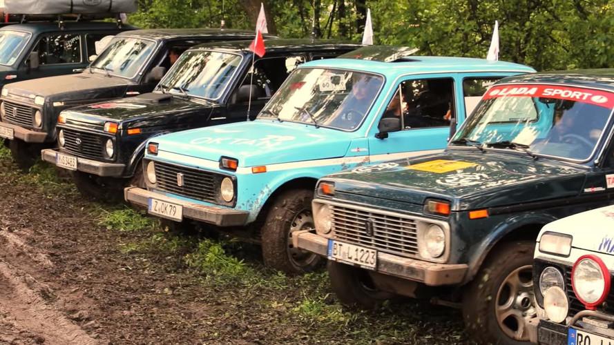 VIDÉO - Lada célèbre les 40 ans du Niva en Russie