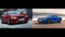 Bentley Continental Comparison
