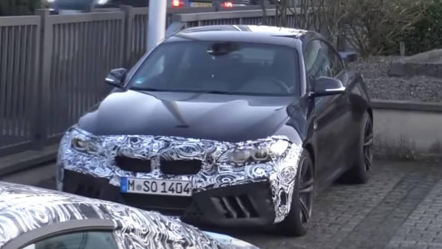 BMW M2'nin daha ateşli versiyonu yakından görüntülendi