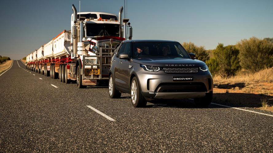 Erődemonstráció Land Rover módra - amikor már 110 tonna mozgatása sem okoz gondot