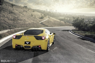 Wheels Wallpaper: Vorsteiner Ferrari 458 Italia