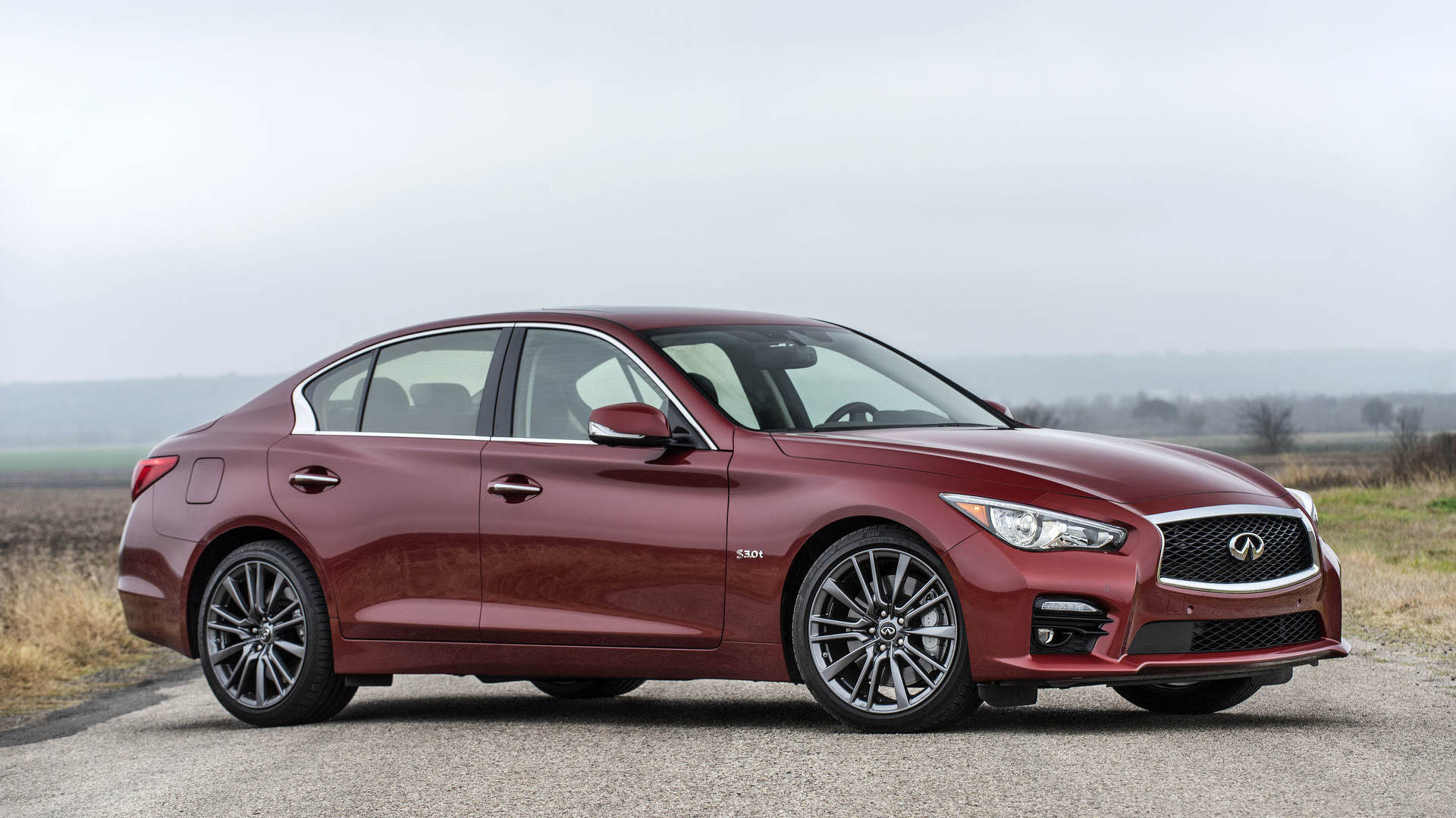 2016 infiniti q50 red sport 400 priced from 47 950. Black Bedroom Furniture Sets. Home Design Ideas