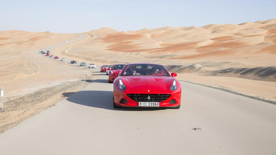 Ferrari highlights the California T Deserto Rosso