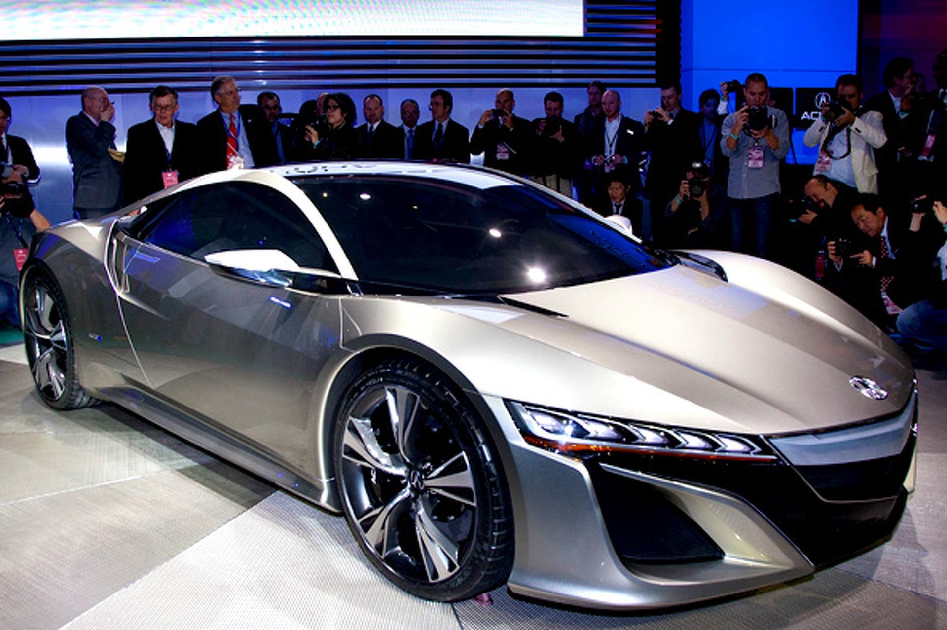 Future Ride: 2012 Acura NSX Concept