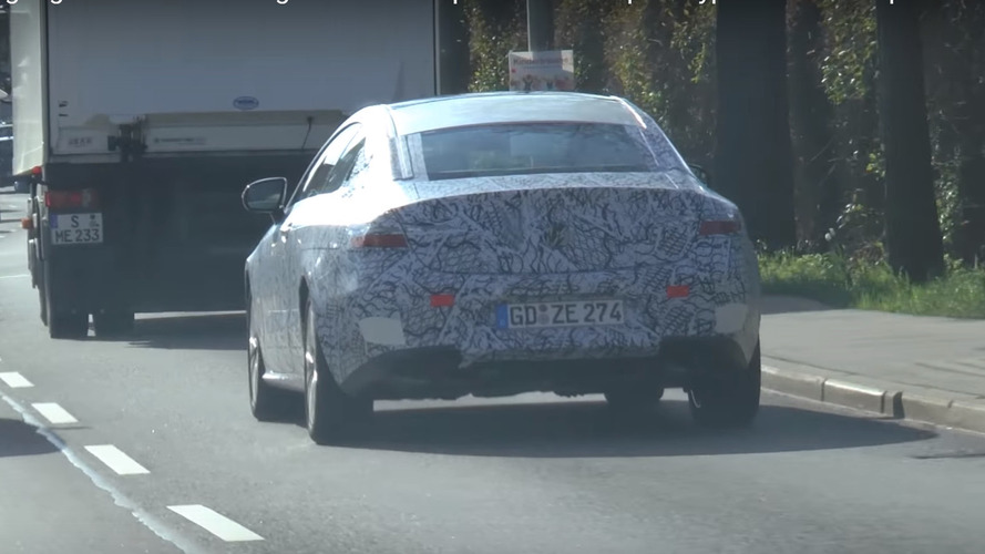 Mercedes E-Class Coupe shows sleek body in new spy video