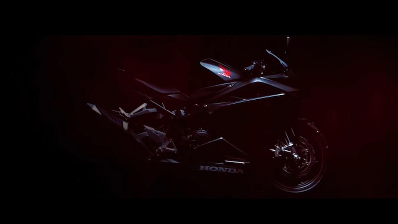 Honda CBR250RR teaser image