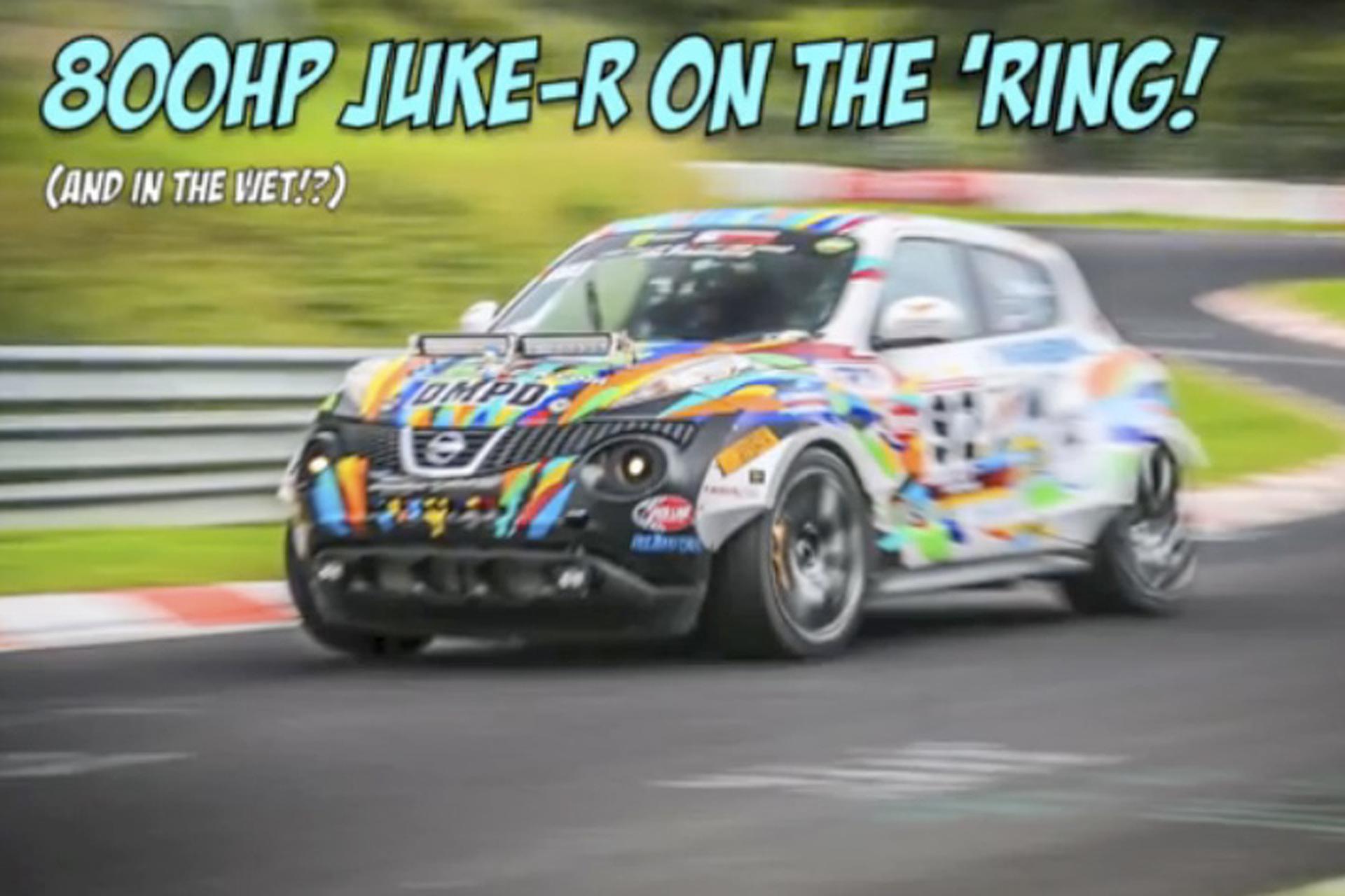 Watch 800hp Nissan Juke-R Hound the Nurburgring [Video]