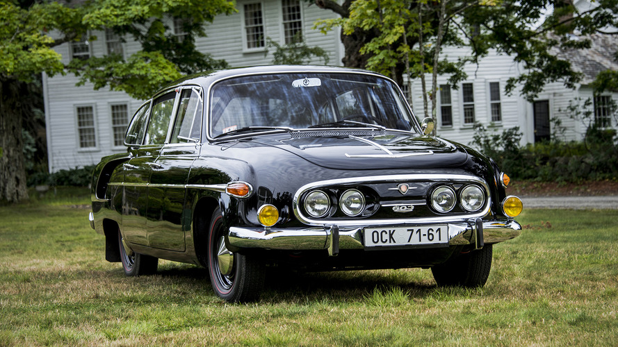 Czech brand Tatra could be resurrected with retro-styled model
