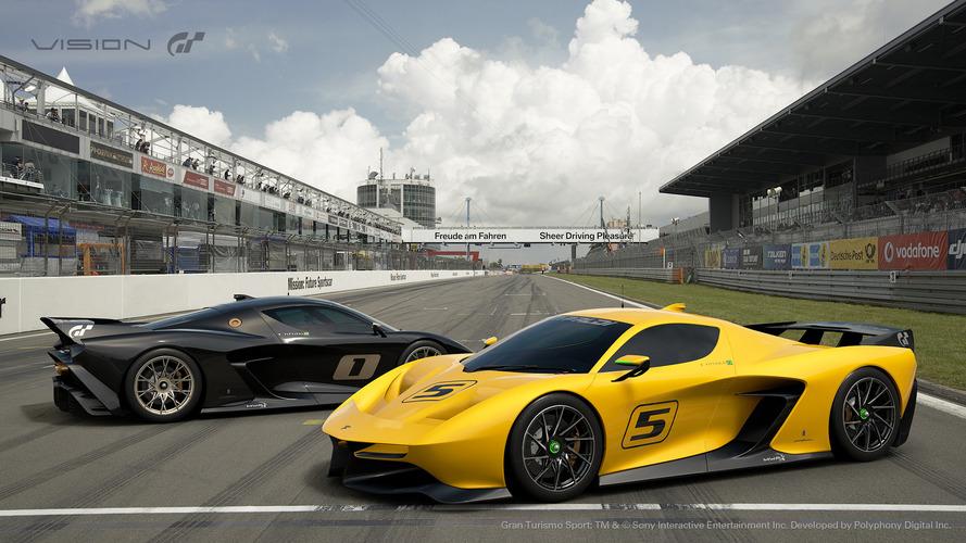 Fittipaldi EF7 Vision Gran Turismo, un juguete para circuito con 600 CV